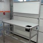 stół montażowy z profili